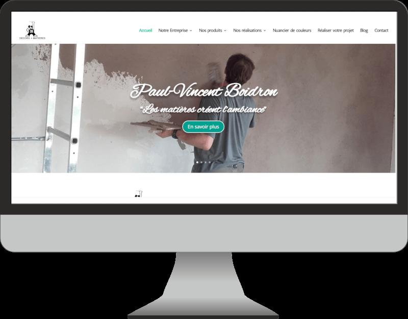 weboconso | Decors et Matieres | webdesigner dordogne