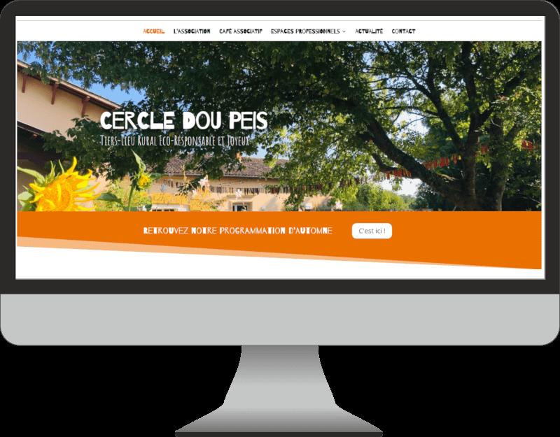 weboconso | Cercle Dou Peis | webdesigner dordogne